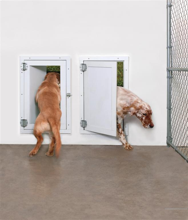 These doors seal off the wind drafts with a foam seal keeping in that expensive heat and are fully lockable from both directions. & Products | Weather Seal Pet Door